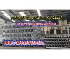 Distributor Pipa PVC Supramas AW D Surabaya