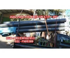 """Jual Pipa PVC 1/2"""" sampai 20"""" Kota Sorong Papua Barat"""