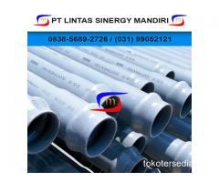 Pipa PVC SNI Trilliun Lengkap beserta fitting