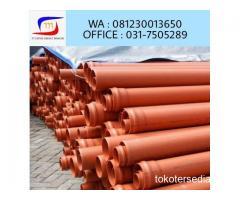 Pipa PVC SNI Limbah Supralon Class A/ Class B Lengkap