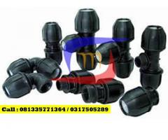 Fitting Compression Joint PE Elbow dan Tee