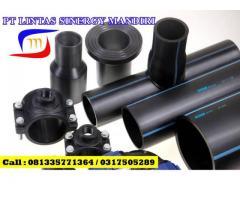 Jual Fitting HDPE Rucika Black