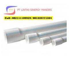 Pipa PVC Mof dan RR Ukuran Besar