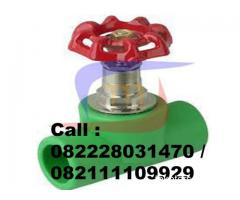 FITTING PPR STRAIGHT WAY VALVE PPR