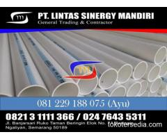 JUAL PIPA PVC SIAP SUPPORT PAMSIMAS PDAM SPAM