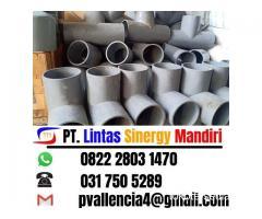 Habiskan Stock Gudang Tee PVC Diameter Besar