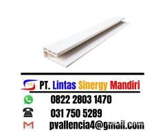 Ready Stock Lis Plafon PVC Warna Putih Susu