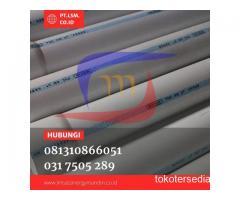 SUPLAYER PIPA PVC RUCIKA PANJANG 4 METER
