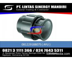 """JUAL FITTING HDPE COMPRESSION END CAP Uk 1/2"""" - 110"""""""