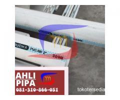 SUPLAYER PVC RUCIKA KLAS AW PANJANG 4 METER