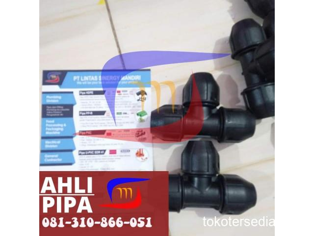 READY STOK TEE HDPE COMPRESSION JOINT ECER