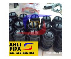 COUPLER HDPE COMPRESSION JOINT