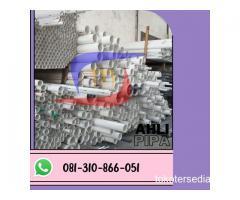 SUPLAYER PIPA PVC SUPRAMAS KLAS AW D PANJANG 4 METER