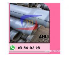 SUPLAYER PIPA PVC STD SNI TRILLIUN MURAH