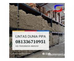 READY BANYAK PIPA PVC PUTIH PANJANG 4 METER