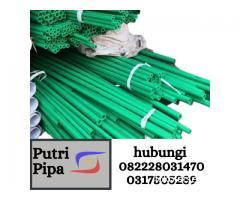 Distributor Pipa PPR Rucika Murah Hubungi 082228031470