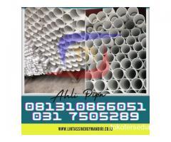 SUPLAYER PIPA PVC EXCELLON, SUPRAMAS PUTIH PANJANG 4 METER Hubungi 081310866051
