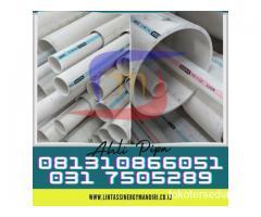 SUPLAYER PIPA PVC RUCIKA PUTIH AWD  Hubungi 081310866051
