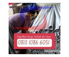 """SIAP SUPPORT KEBUTUHAN PIPA PVC MULAI UKURAN 1/2"""" - 20""""  Hubungi 081310866051"""
