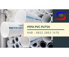 Pipa PVC Putih Siap Kirim Hubungi 082228031470
