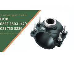 Clamp Saddle HDPE Siap Support Sampai Diameter 8 Inch Hubungi 082228031470