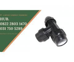 Fitting HDPE Reducer Tee Berkualitas Hubungi 082228031470