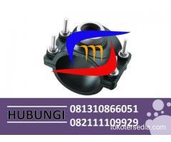 ready stok klem saddle hdpe murah ecer hubungi 081310866051