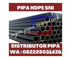 PUSAT PIPA HDPE TERMURAH HUBUNGI 082228031470