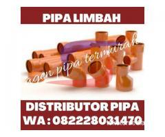 PEMASOK SAMBUNGAN DAN PIPA LIMBAH READY STOCK HUBUNGI 082228031470